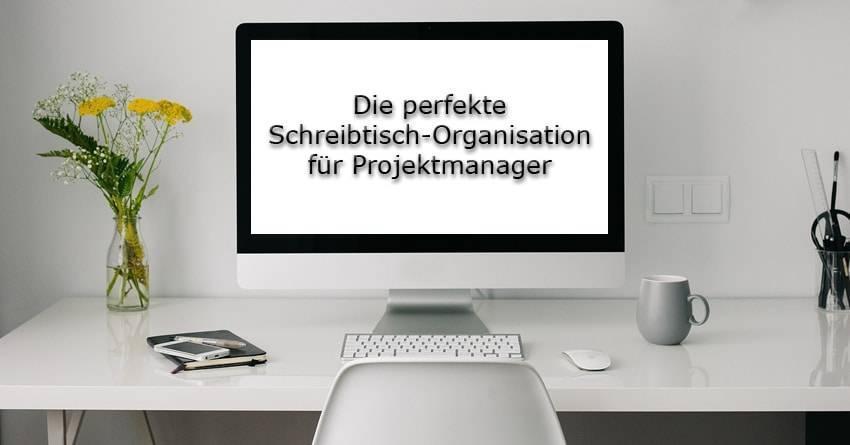 Schreibtisch Organisation