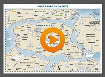 Projektorganisation mit SmartPM-Landkarte