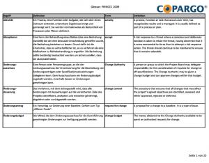 PRINCE2 Glossar als PDF herunterladen