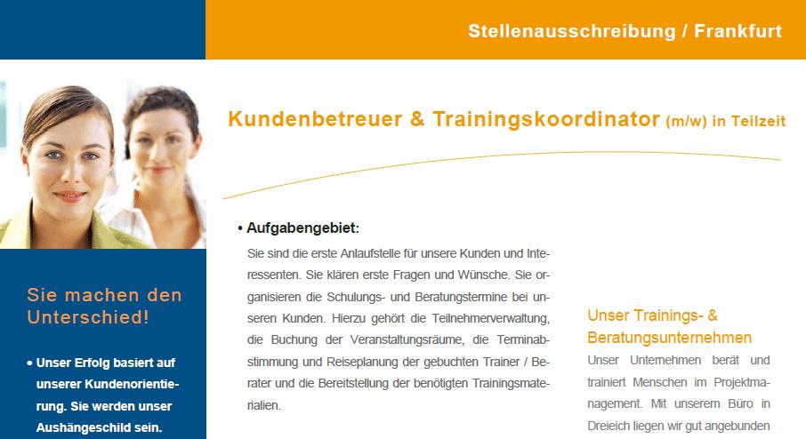 Jobs stellenangebote in frankfurt dreieich for Stellenangebote grafikdesigner frankfurt